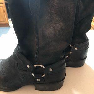 Mens Genuine HARLEY DAVIDSON Suede Boots
